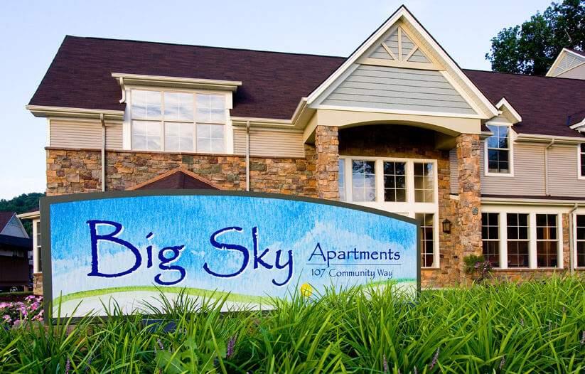 Big Sky Apartments in Staunton Va