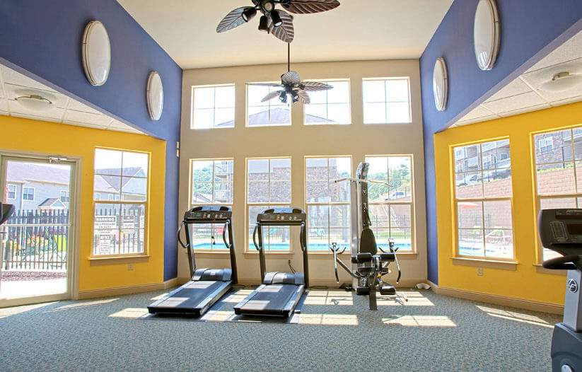 Apartments in Staunton Va with Fitness Center