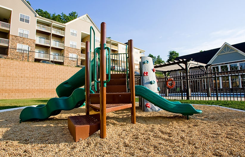 Big Sky Apartments in Staunton Va with Playground
