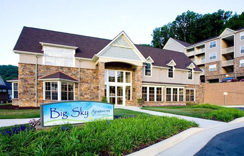 Big Sky Apartments for Rent Staunton Va
