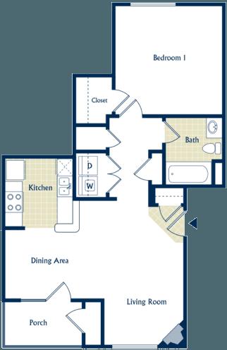 One Bedroom Apartment in Shenandoah Valley - Shenandoah Big Sky Apartment