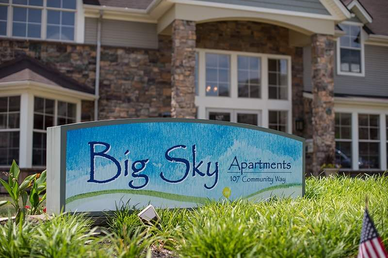Big Sky Apartments in Staunton