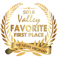 The News Virginian 2018 Valley Favorite Place to Live - First Place Award
