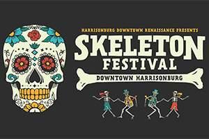 Events near Staunton - Harrisonburg Skeleton Festival
